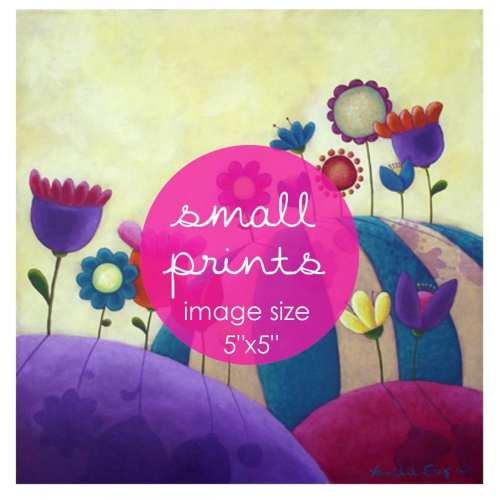 "small prints 5x5"""
