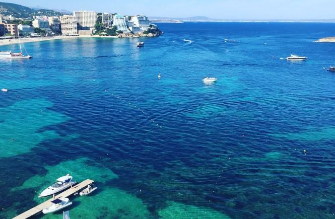 Calvin bay Majorca
