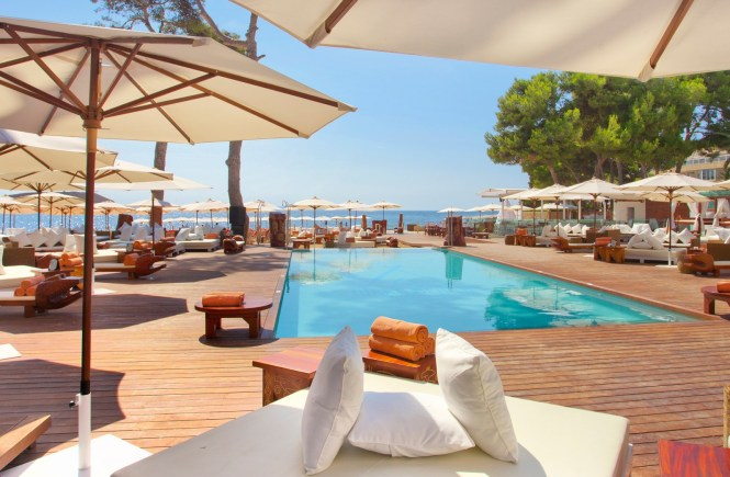 Nikki Beach swimming pool Malloca
