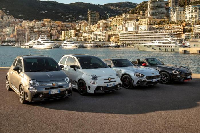 abarth 70th anniversary range 3