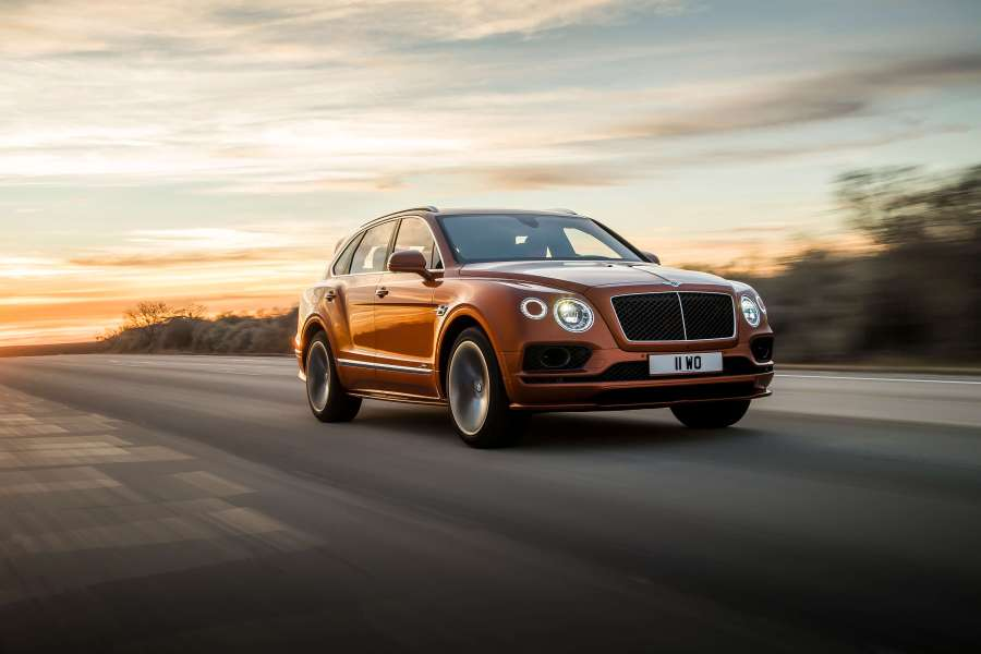 Bentley Bentayga Speed Middle East