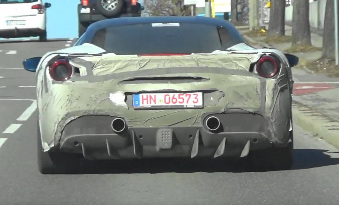 ferrari 488 replacement