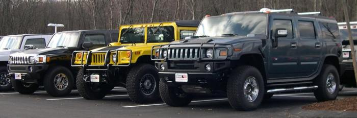 Hummer Electric Vehicles