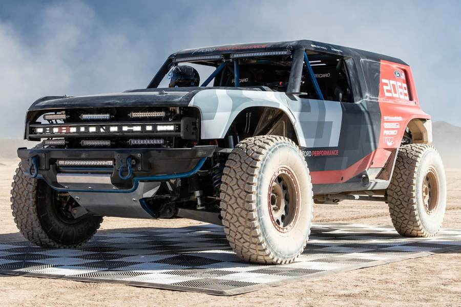 Ford Bronco R Racing Truck
