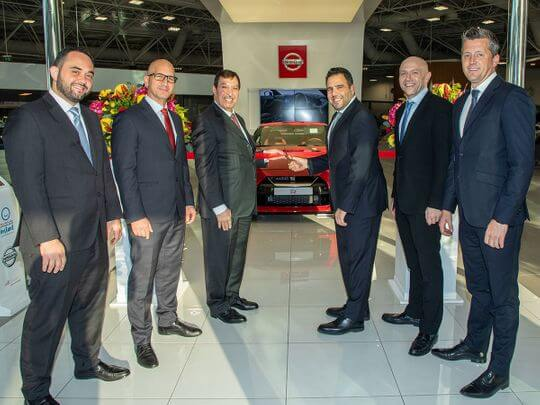 Nissan Showroom Dubai