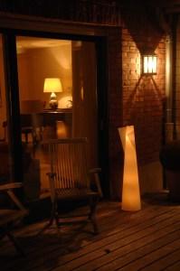 Lanterne de Jardin Cône