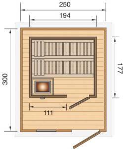 Plan Sauna