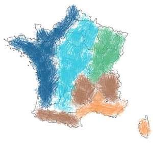 climat région France