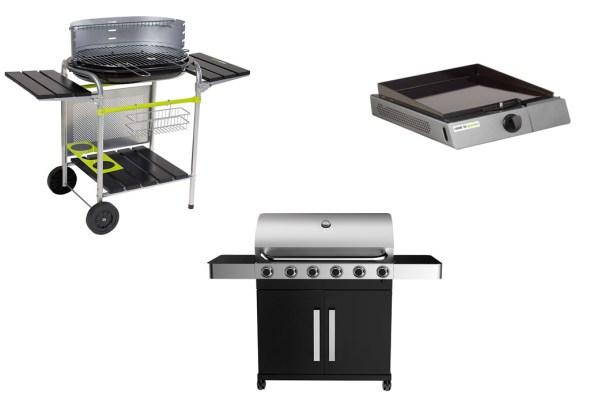 barbecue electrique charbon gaz
