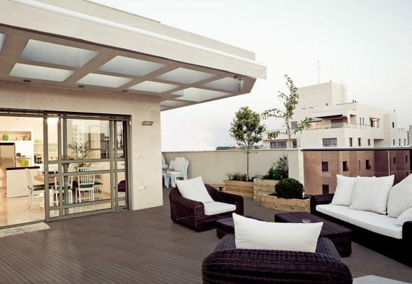 Nouveaux Lames de Terrasse Composite à Emboiter Taupe