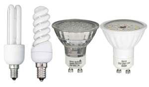 ampoule led fluocompactes