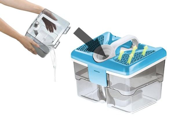 Système de filtration par l'eau