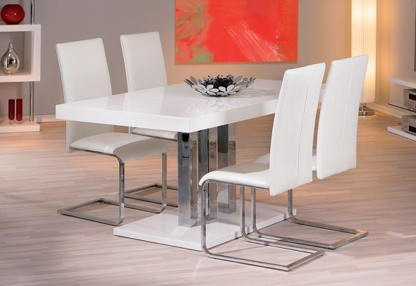 Salle a Manger : Table Palazzo 160x90 cm + 4 Chaises