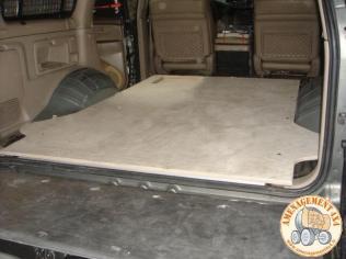 plancher complet avant installation des caissons