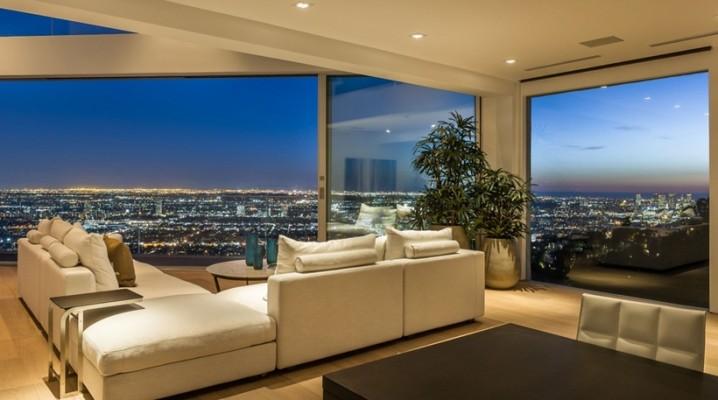 Maison Design Avec Vue Sur Los Angeles