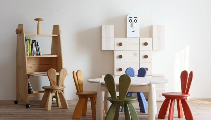meubles japonais design en bois pour