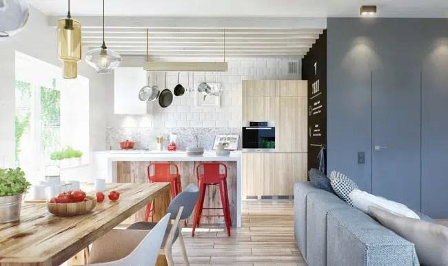 appartement au style scandinave