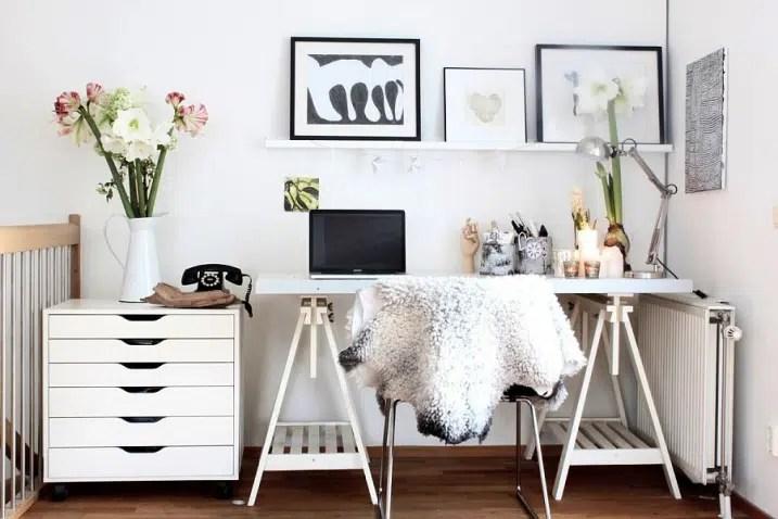 Idée pour decorer un bureau scandinave