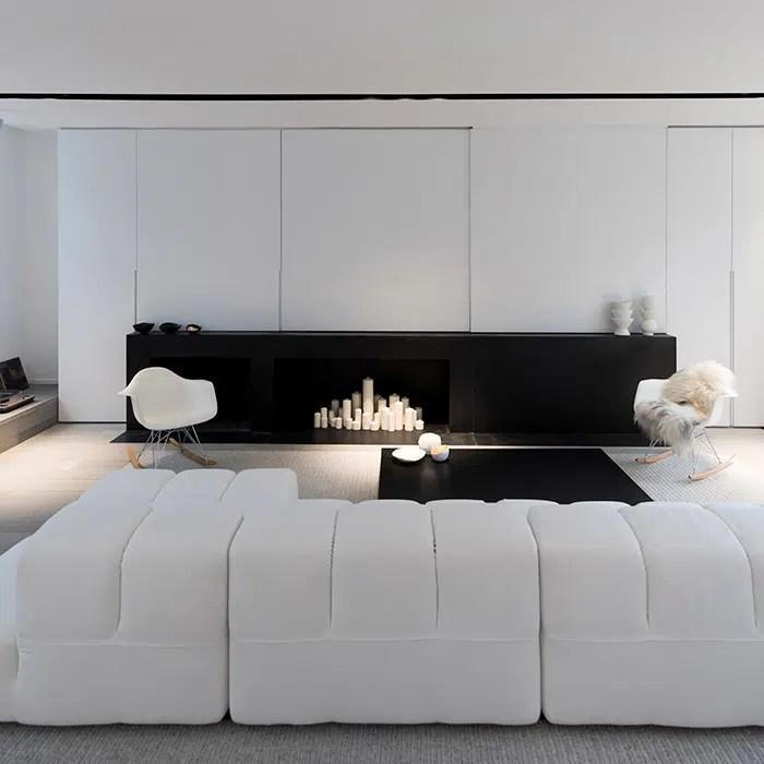 maison avec une decoration minimaliste