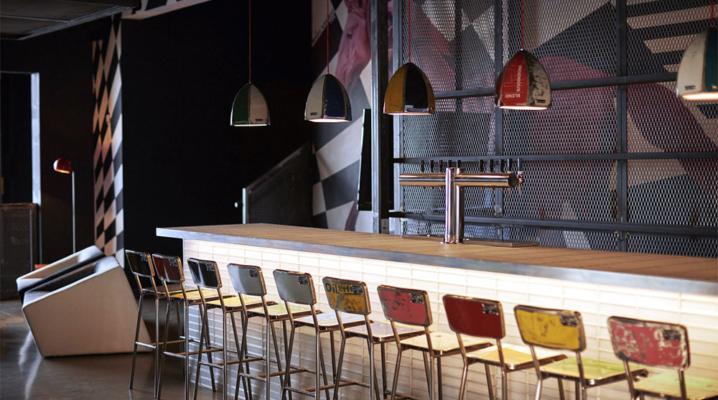 Idees Pour Decorer Un Bar Avec Un Style Vintage Industrielle