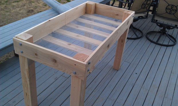 How Build Raised Container Garden Box