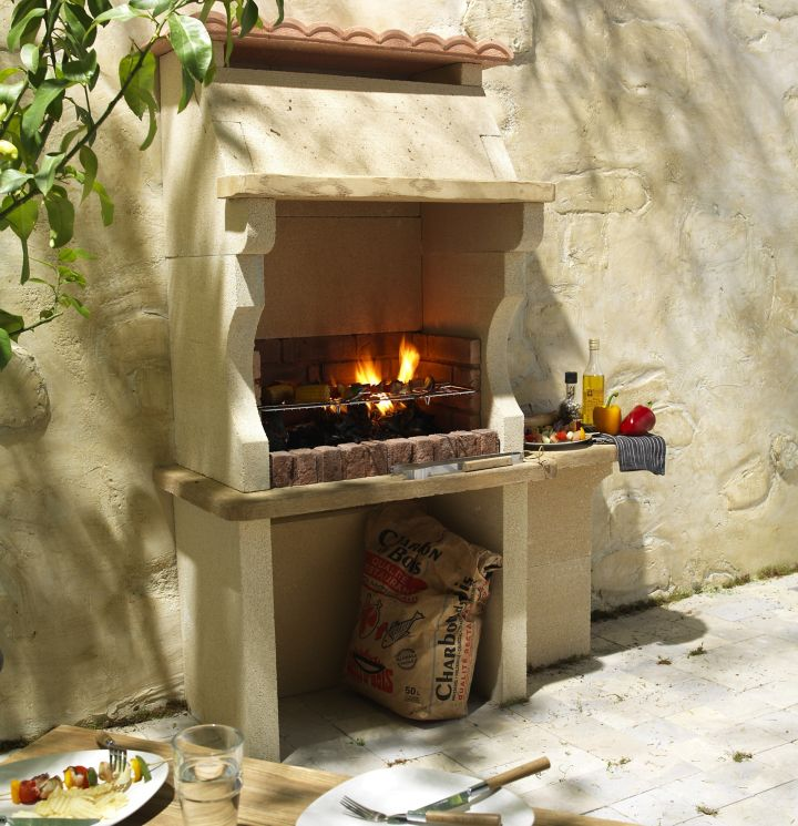 Voir plus d'idées sur le thème barbecue jardin, cuisine extérieure, design barbecue. bbq exterieur pierre - Agencement de jardin aux meilleurs prix
