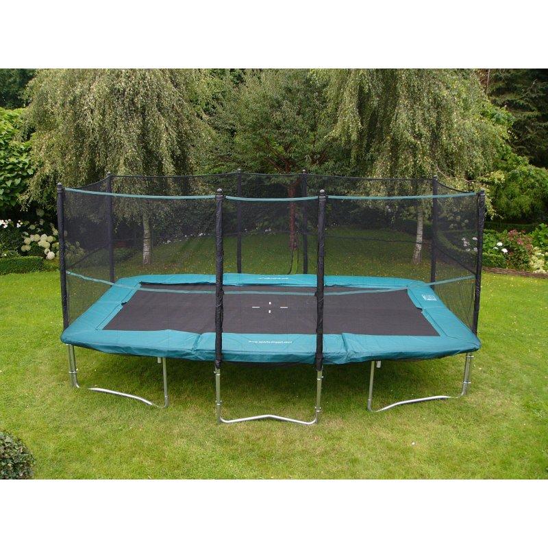 trampoline rectangulaire a vendre