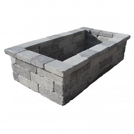 jardiniere en beton rectangulaire 136 x 76 x 35 cm gris nuance