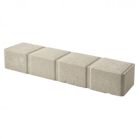 bordure de jardin pave en beton presse 50 x 11 5 x 8 ton pierre