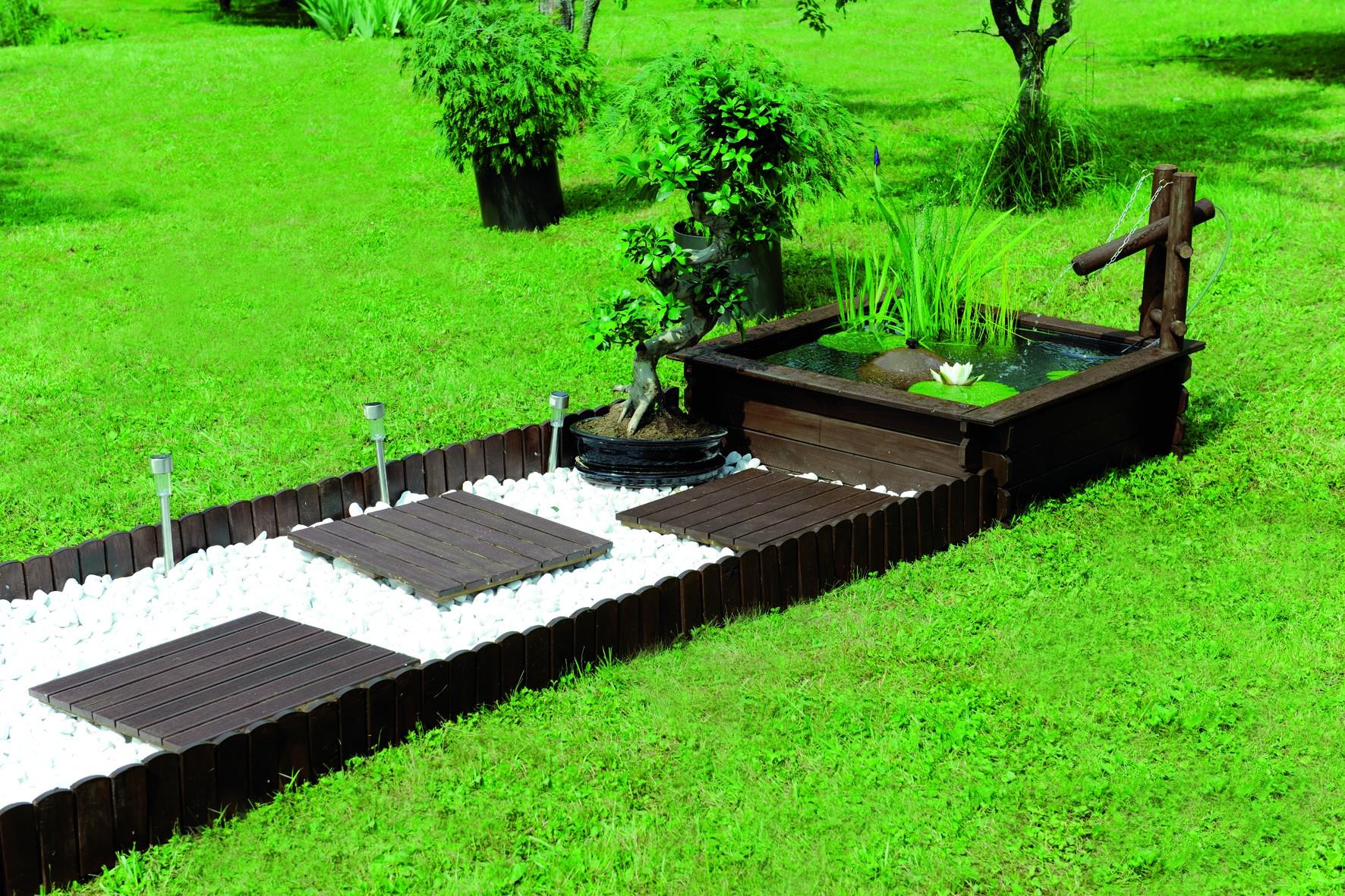 quel bassin en bois pour son jardin am nager ma maison. Black Bedroom Furniture Sets. Home Design Ideas