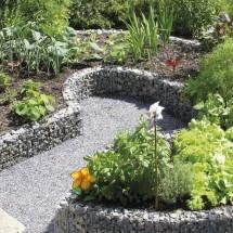 gabion pour jardin et terrasse