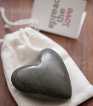 Hearts for Haiti  - Heart Rocks $10