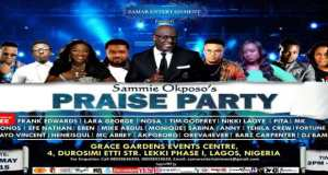 News: Sammie Okposo To Hold Praise Party On May 1st, 2015
