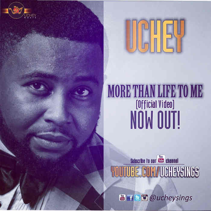 "New Music Video: ""More Than Life To Me"" - Uchey"
