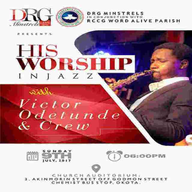 "News: DRG Minstrel hosts ""His Worship"" in Jazz with Victor Odetunde"