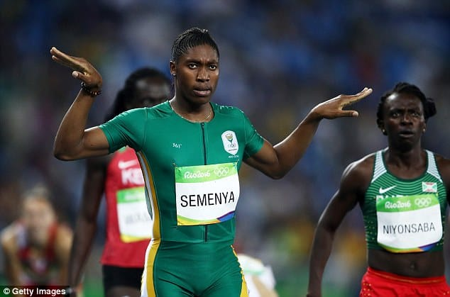 Semenyar won 800m Gold Medal at Rio Olympics [www.AmenRadio.net]