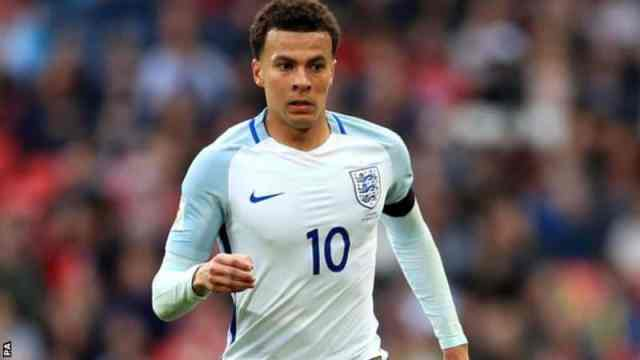 Dele Alli in Action for England [www.AmenRadio.net]