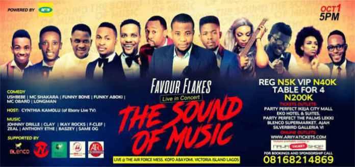 Favour Flakes Concert 2017