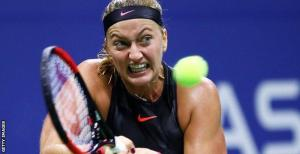 Petra Kvitova still cannot clench her left hand after she was stabbed by an intruder in her home in December [www.AmenRadio.net]