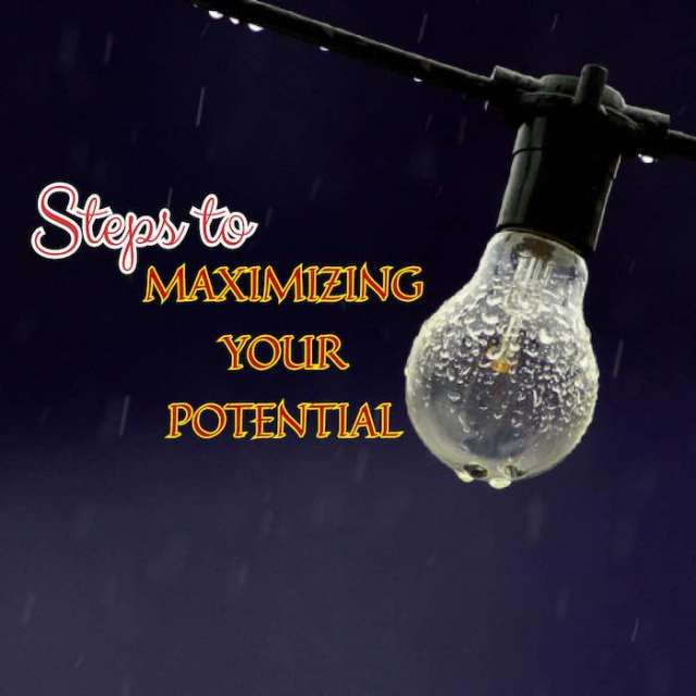 Article | Be Inspired: Steps To Maximizing Your Potential [www.AmenRadio.net]