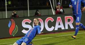 Giffy Sigurdsson celebrates agsint kosovo [www.AmenRadio.net]
