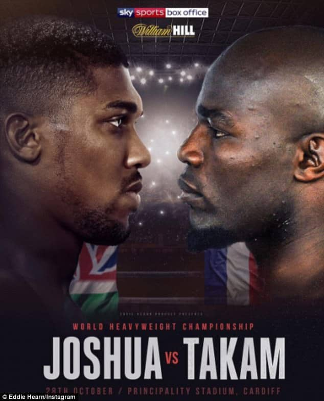 Anthony Joshua Will fight Takam to defend his IBF Title [www.AmenRadio.net]