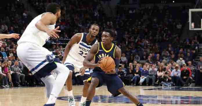 Oladipo leads pacers past Timberwolves [www.AmenRadio.net]