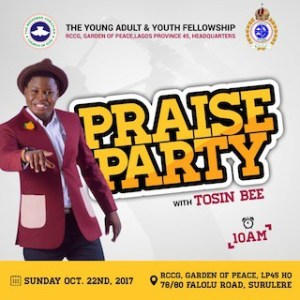 Praise Party With Tosin bee