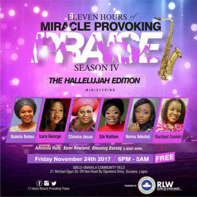 RCCG MIRACLE PROVOKING PRAISE