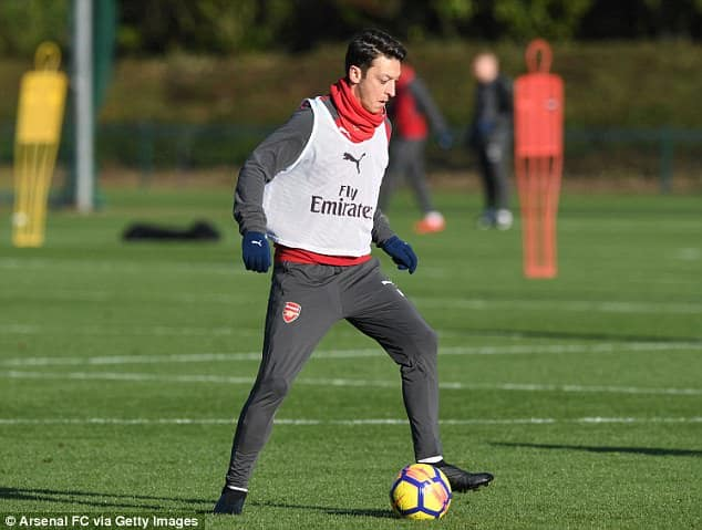 Mesut Ozil is on the last six months of his contract [www.AmenRadio.net]