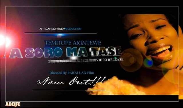 Gospel Music Video: Asoromatase - Temitope Akintewe | AmenRadio.net