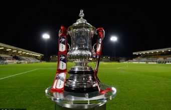 The FA Cup trophy [www.AmenRadio.net]