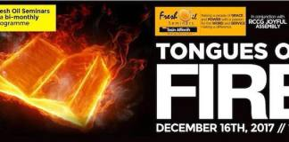 December 2017 Edition: Fresh Oil Seminar tagged - Tongues of Fire [AmenRadio.net]