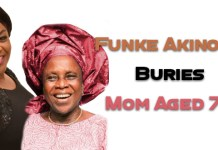 Funke Akinokun Buries Mother Aged 76 In Efon, Ondo State, Nigeria | AmenRadio.net